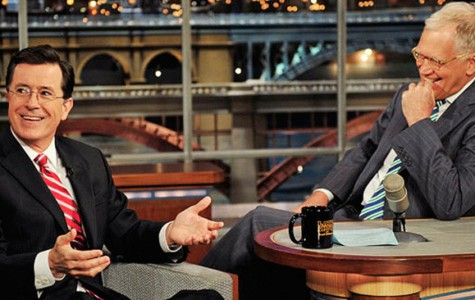 Letterman Passes the Late-Night Torch to Stephen Colbert