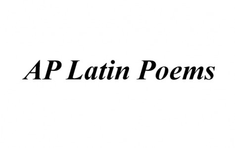 AP Latin Poems